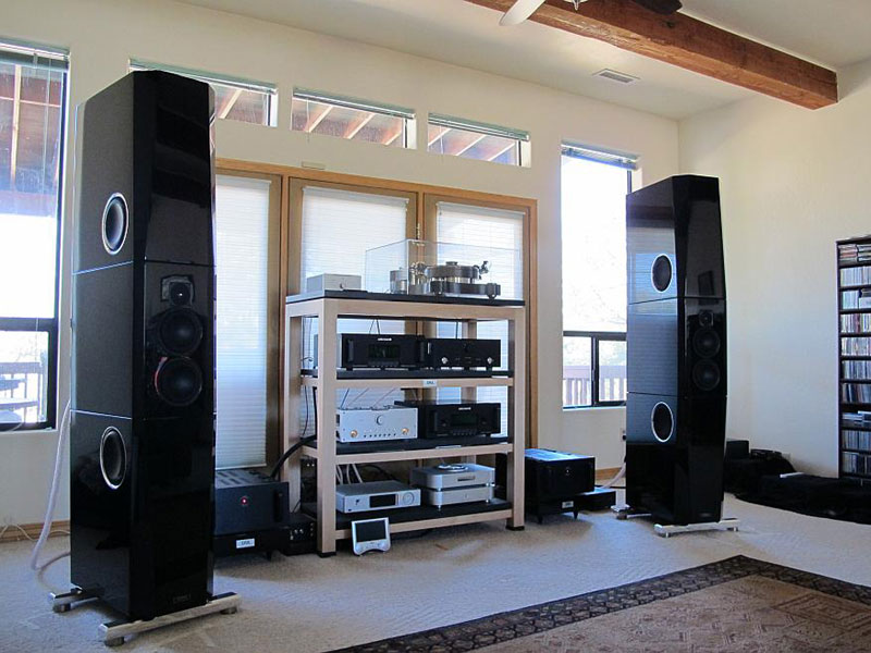 The Audio Beat Tidal Sunray Loudspeakers