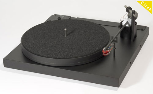 Well Tempered Record Player//Classic Damping Paddle