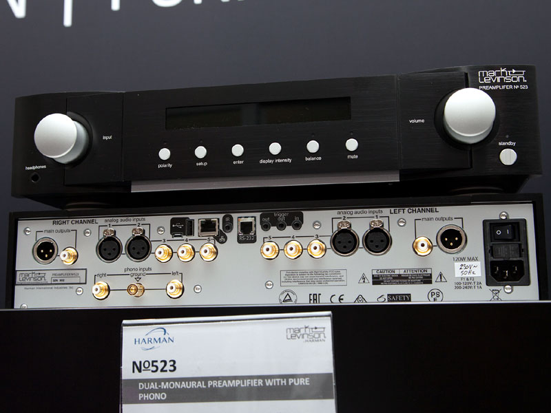 Mark Levinson No 523 and No 534 - The Audio Beat - www