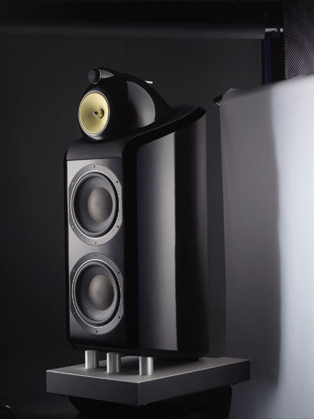 Bowers And Wilkins Speakers >> The Audio Beat - High-Tech and Aesthetic Design Unite in B&W's New 800 Diamond Series - B&W 800 ...